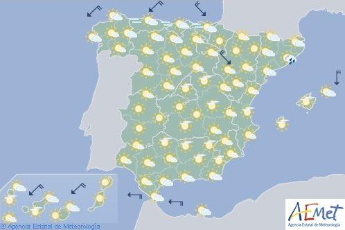 Hoy en España sin cambios significativos