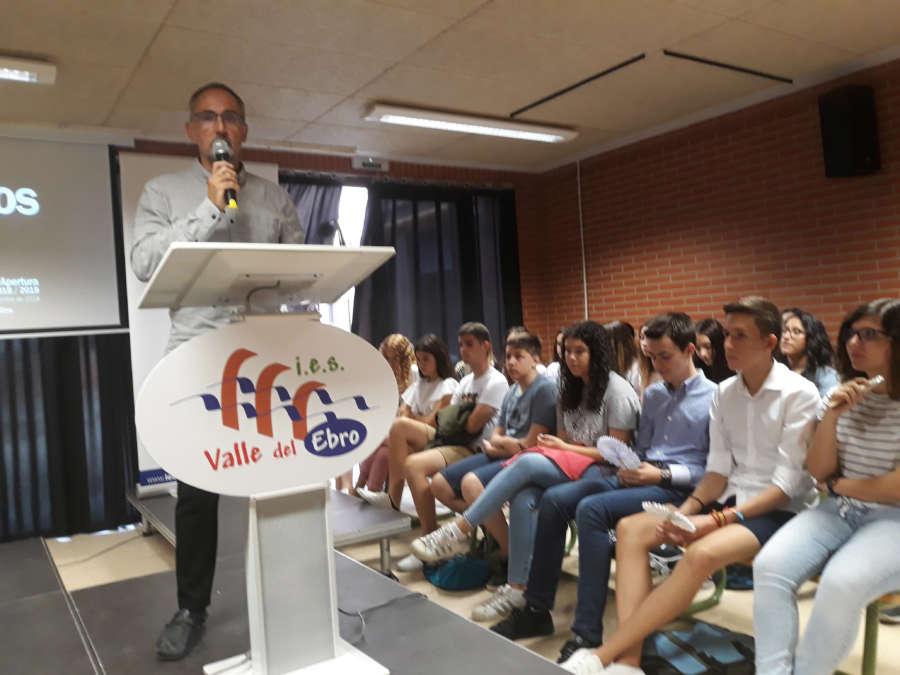 Una treintena de estudiantes comienza el Bachillerato de Investigación en Tudela