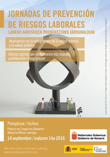 AGENDA: 14 de septiembre, en Baluarte, Jornada de Prevención de Riesgos Laborales