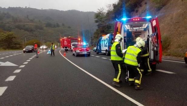 Una joven de Ataun muere al chocar su coche con una furgoneta en Vera