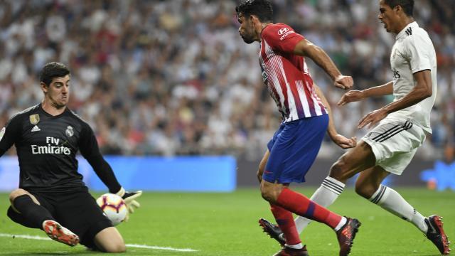 0-0. El Real Madrid y el Atlético firman un derbi sin goles