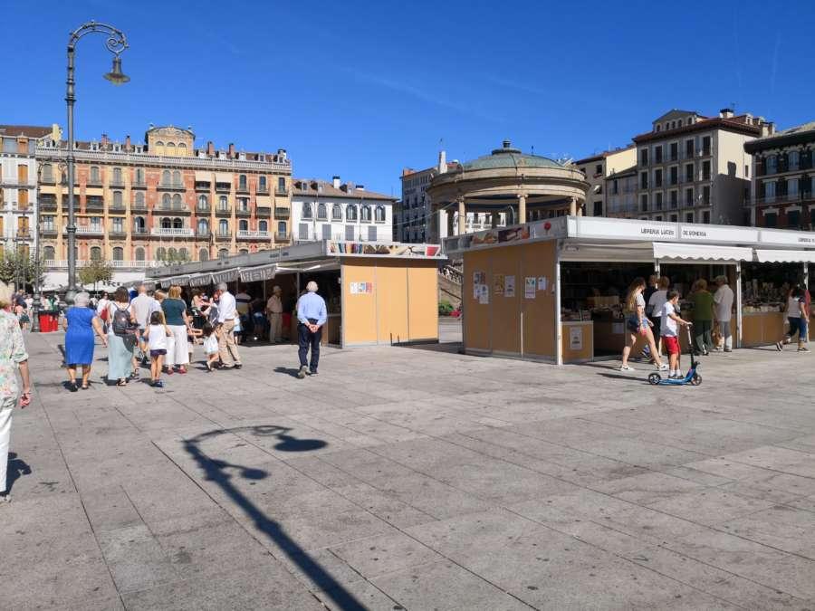 Abre la IV Feria de la Edición, el Libro y el Disco en Pamplona