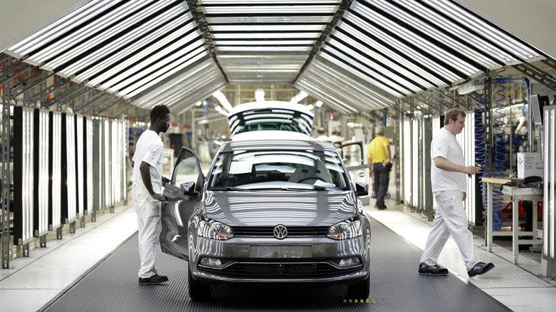 Volkswagen Navarra fabricará este año 320.000 vehículos, el 17,5 % más