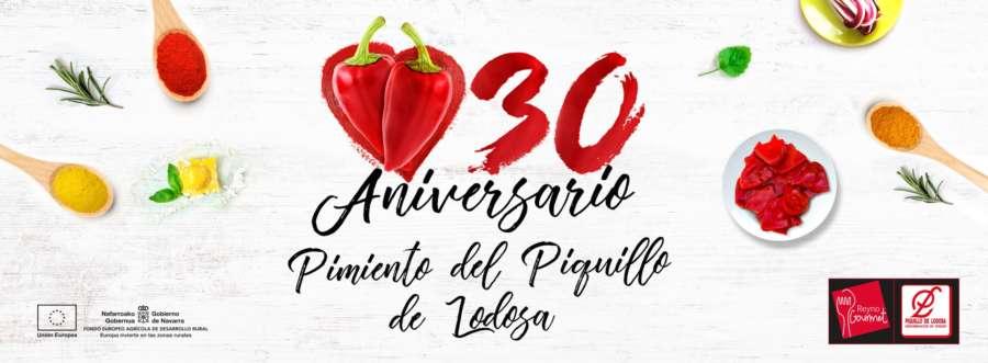 Una gran fiesta gastronómica cierra el 30 aniversario del Pimiento del Piquillo de Lodosa