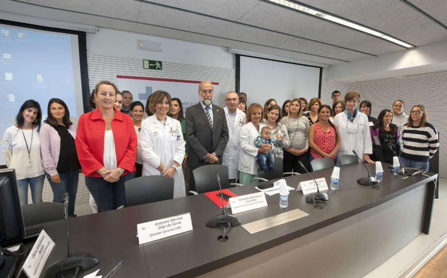 Navarra se suma al objetivo de la OMS de alcanzar el 50% de recién nacidos con lactancia materna