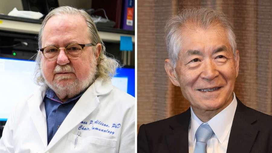 Nobel de Medicina para los inmunólogos James P. Allison y Tasuku Honjo