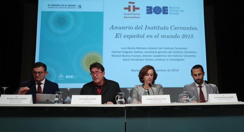 El 7,6 por ciento de la población mundial habla ya español, pero bajará en el futuro