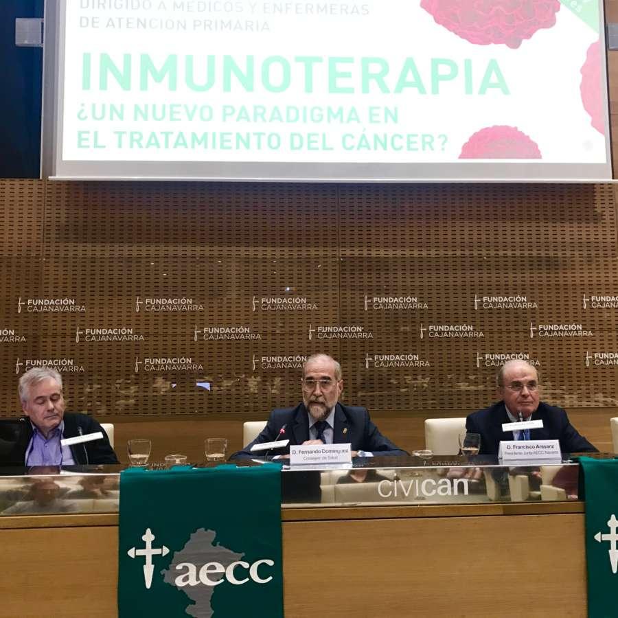 167 pacientes con cáncer se han beneficiado en Navarra de tratamientos con inmunoterapia en 2018