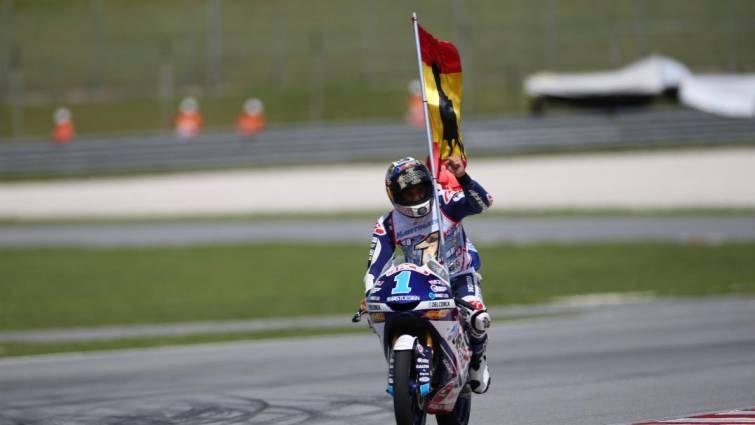Jorge Martín, campeón del mundo de Moto 3