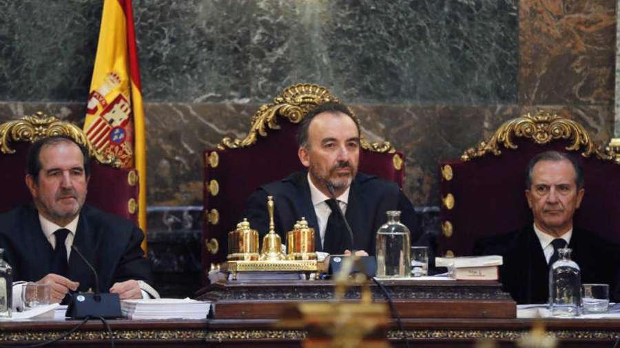 El Supremo pide a Interior que traslade a los presos del proceso soberanista antes de febrero