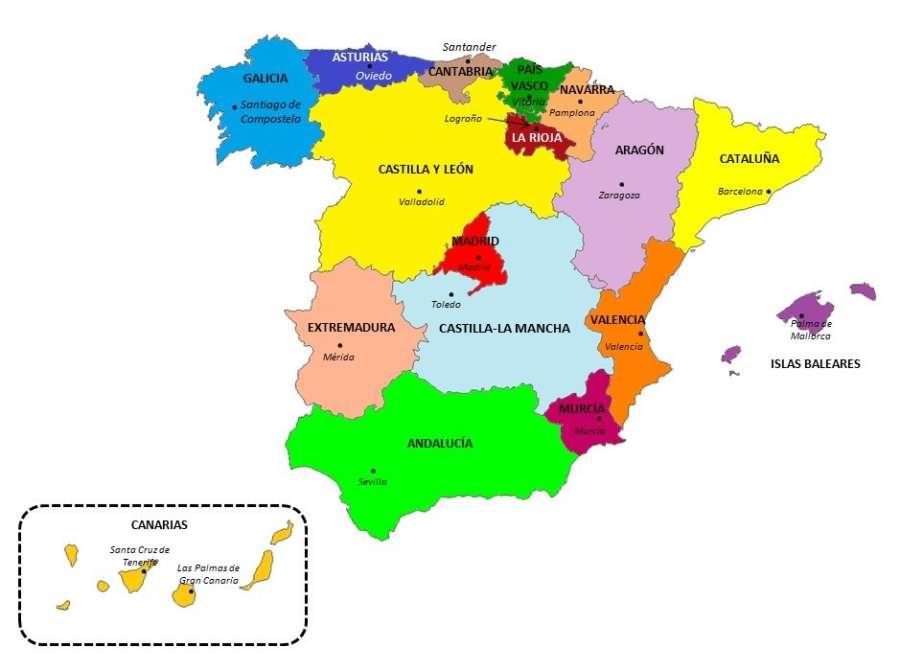 28-A: El PSOE gana en todas las comunidades salvo en Cataluña, País Vasco y Navarra