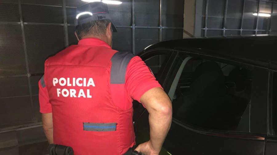 Policía Foral detiene a 5 personas e investiga a 3 durante este fin de semana