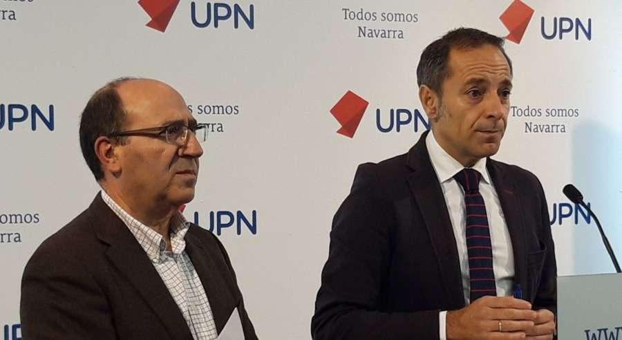 UPN ve la actitud de Ayerdi con Davalor