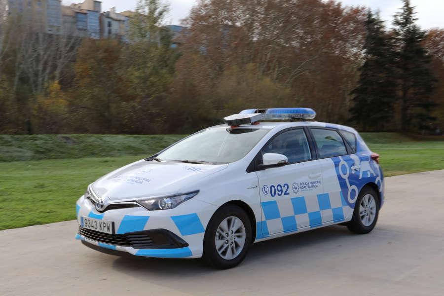 Pamplona estrena un vehículo lector de matrículas para detectar infracciones