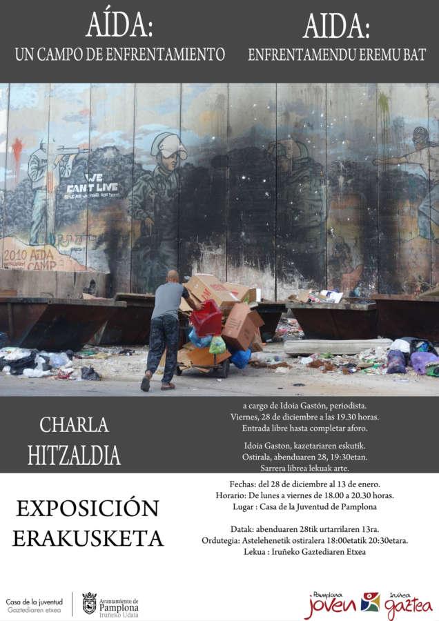 AGENDA: 28 de diciembre a 13 de enero, en Casa de la Juventud de Pamplona, exposición fotográfica