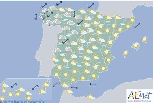 Hoy en España, nieblas en ambas mesetas
