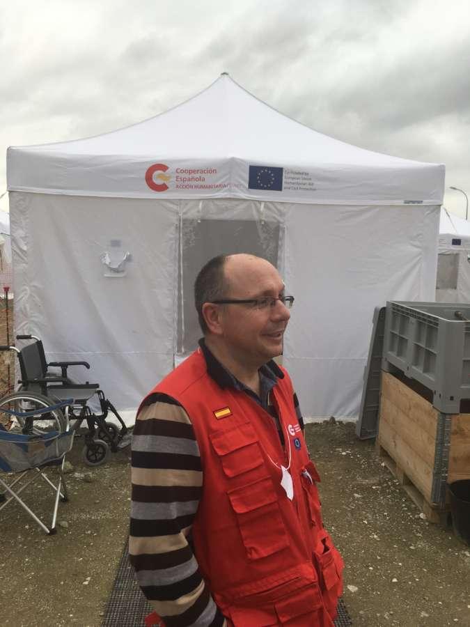 El navarro Lafuente, en el equipo de Ayuda y Respuestas a Emergencias Internacionales