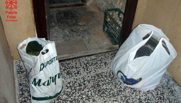 Detenido en Arguedas al ser sorprendido robando con un niño de 9 años