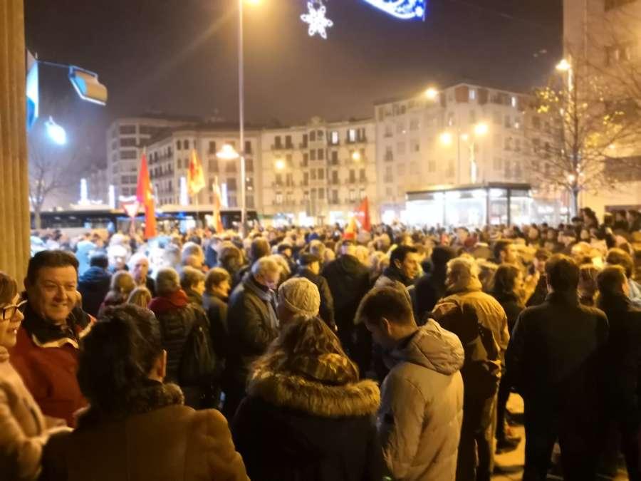 Este sábado concentración en Pamplona contra las transferencias de tráfico a Navarra