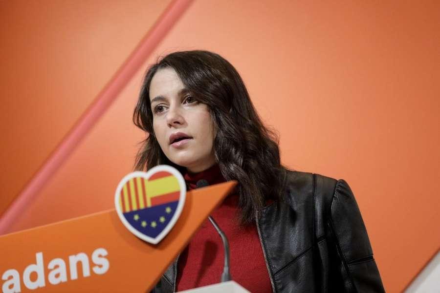 """Arrimadas: """"Ayer fue el día soñado por Torra: una Cataluña gobernada por CDR"""""""