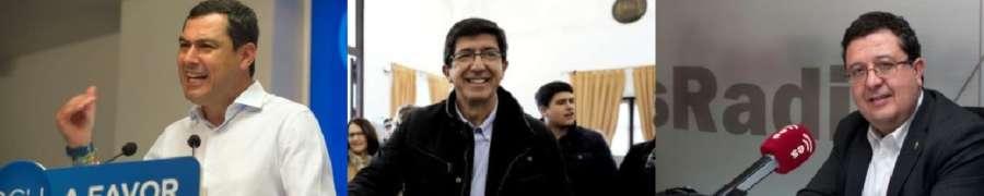 PP, Ciudadanos y VOX suman en Andalucía y el PSOE se hunde