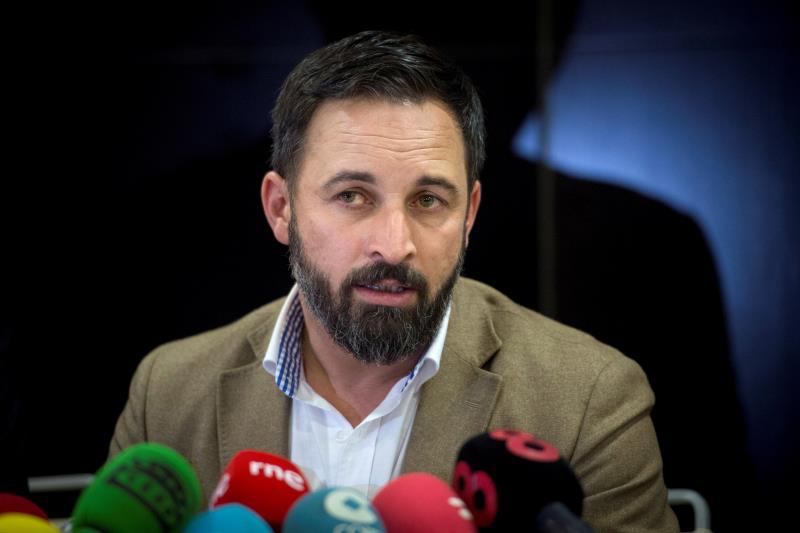 """Vox pide al Supremo encarcelar a Torra y denunciará al Gobierno si persiste en su """"dejación de funciones"""""""