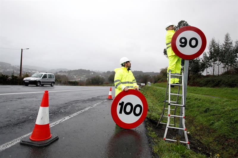 Adiós a los 100 kilómetros por hora en las carreteras convencionales