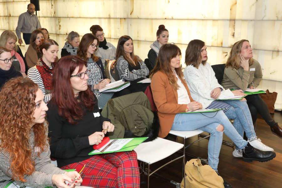 Pamplona acoge a educadoras infantiles de siete escuelas de Rumanía, Suecia y Reino Unido, dentro del programa de intercambio 'Erasmus +