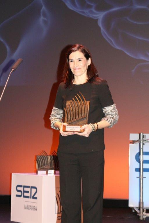 La Dra. Marta Alonso recibe el Premio SER Navarra 2019 a la Investigación
