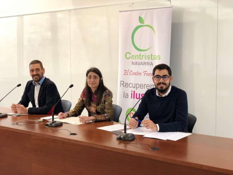 CCD-Centristas de Navarra presenta sus candidatos para las elecciones de mayo 2019