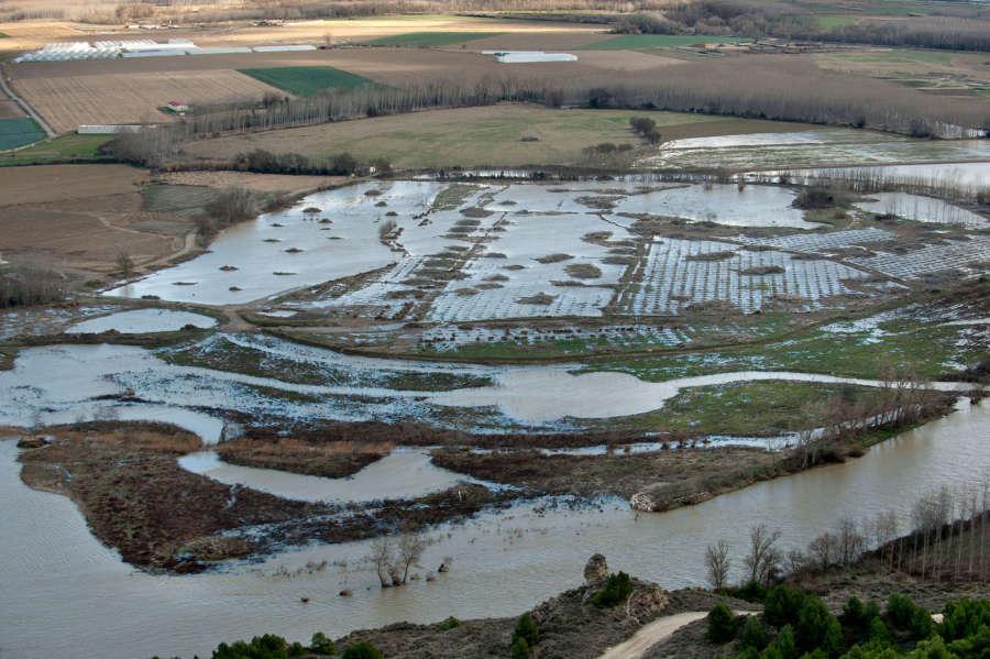 El Gobierno navarro dice que la lluvia y la nieve no dejan incidencias significativas