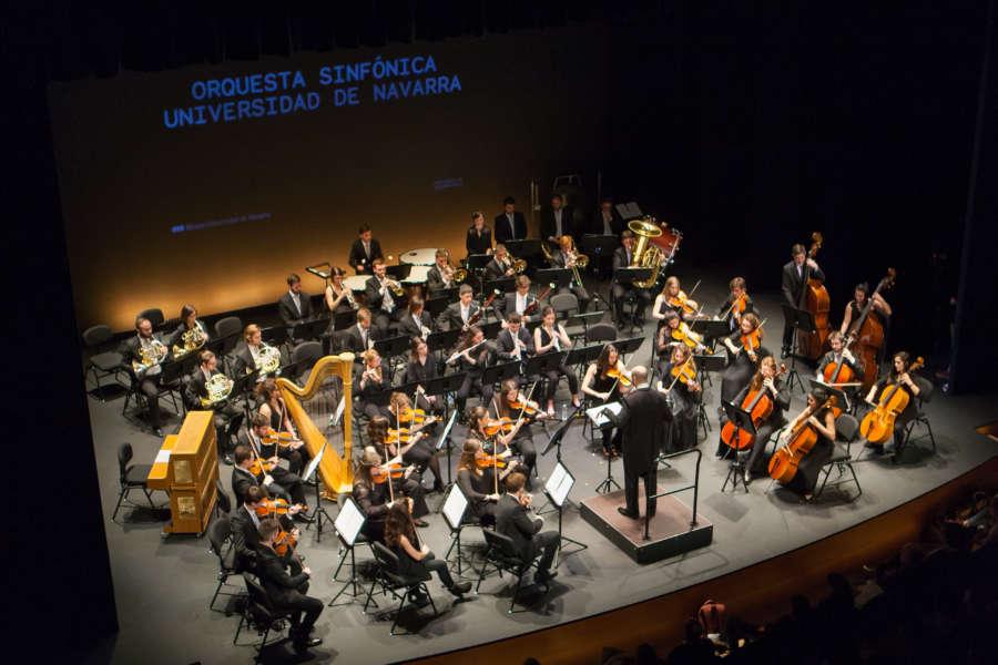 La Orquesta Sinfónica de la Universidad de Navarra actuará en beneficio de la Fundación Columbus