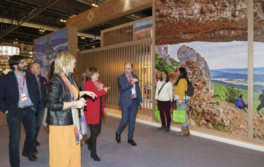 Barkos apuesta en FITUR por captar turismo internacional para Navarra