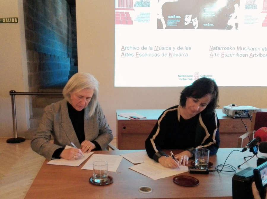 El Archivo de Navarra recibe el fondo documental de la compositora Teresa Catalán