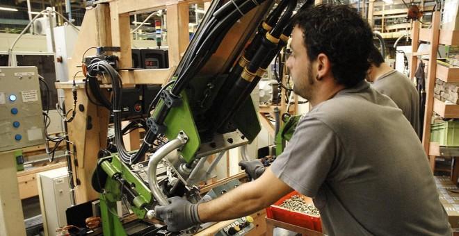 La producción industrial en Navarra cae un 2,4 % en abril