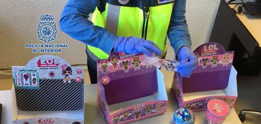La Policía Nacional interviene en Madrid más de 172.000 juguetes falsos y peligrosos