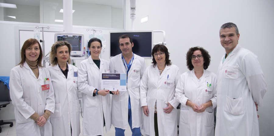 Reconocido el trabajo del CHN en el uso de la cápsula endoscópica para el diagnóstico de linfomas