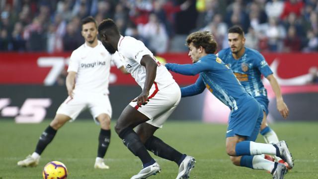 1-1. Reparto de puntos entre sevillistas y atléticos en el Sánchez Pizjuán