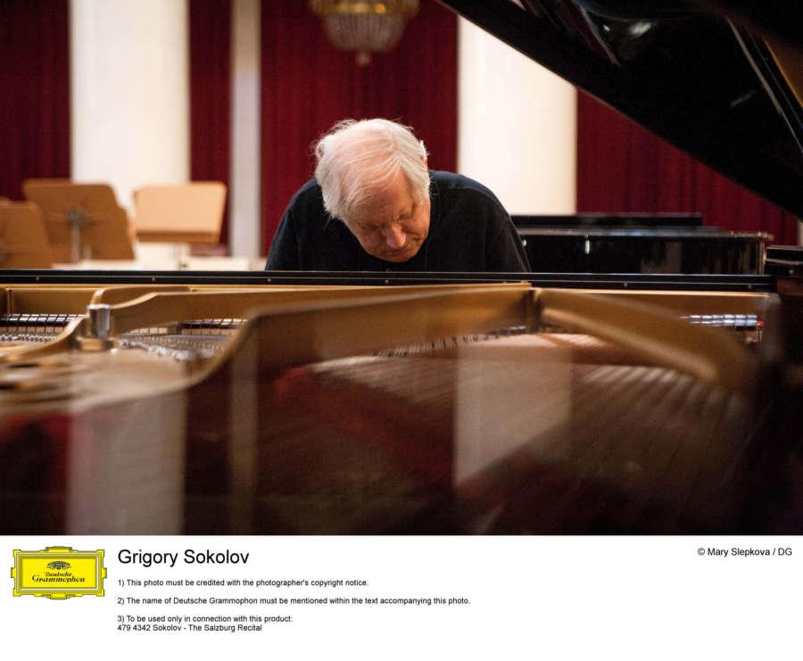 AGENDA: 26 de febrero, en Baluarte, concierto del pianista Grigory Sokolov