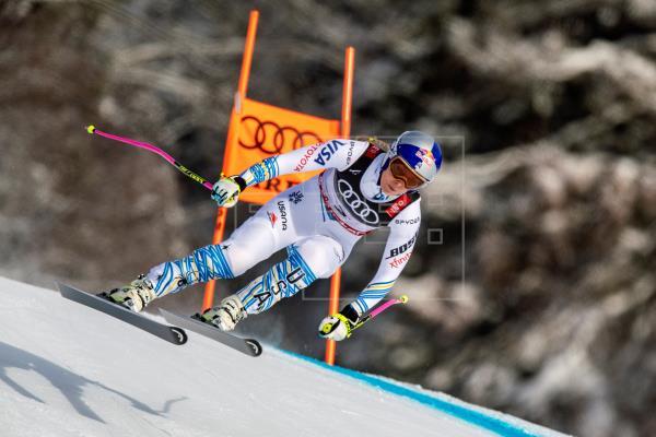 Lindsey Vonn cierra el círculo con un bronce en el descenso