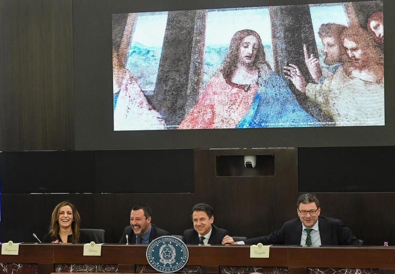 Italia reivindica el genio de Leonardo Da Vinci para sus desafíos presentes