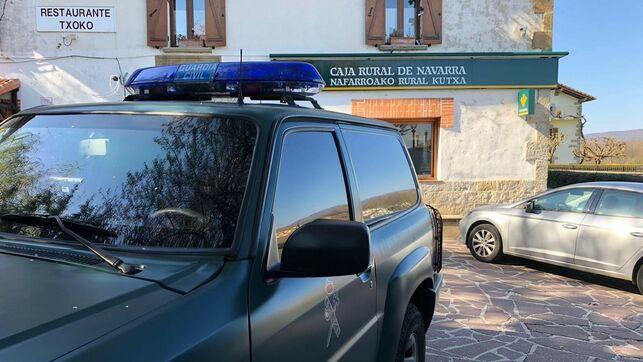 Condenado a 4 años y 8 meses de prisión el acusado de planificar el atraco a una sucursal bancaria en Larrainzar (Navarra)