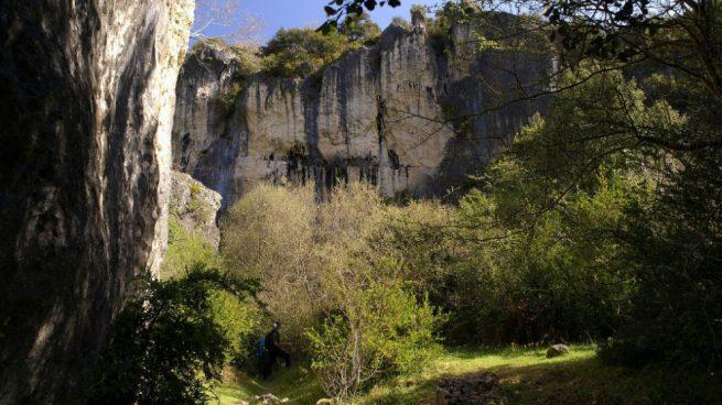 Muere un escalador al precipitarse en el cañón del río Ubagua, en Riezu