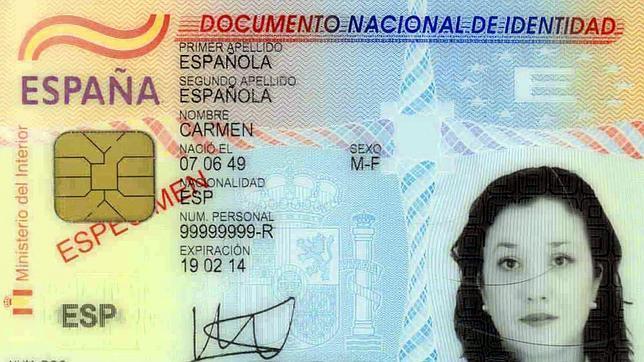 Nuevo documento de identificación en España, el DNI
