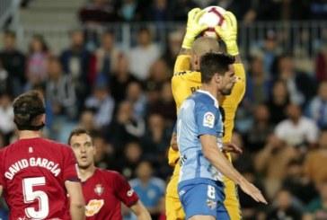 1-2: Osasuna remonta al Málaga y se reafirma en el liderato