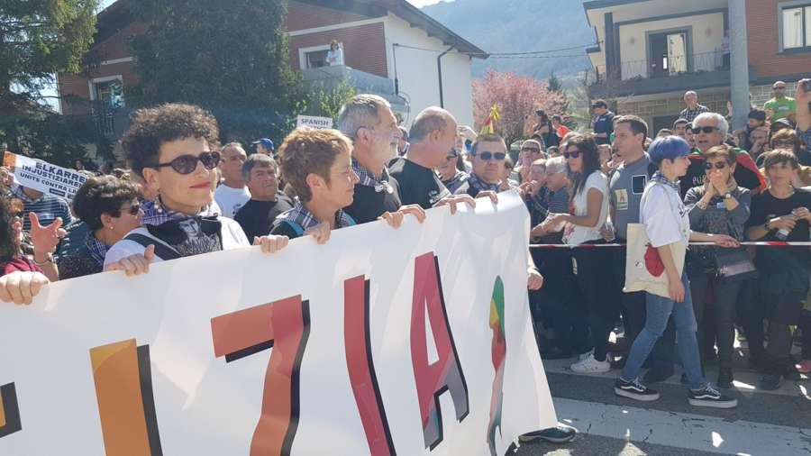 Manifestación rechaza en Alsasua la sentencia por agresión a guardias civiles