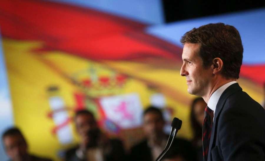 """28-A: Casado pide el voto de los """"defraudados"""" de Sánchez, que """"patrocina"""" la sedición"""