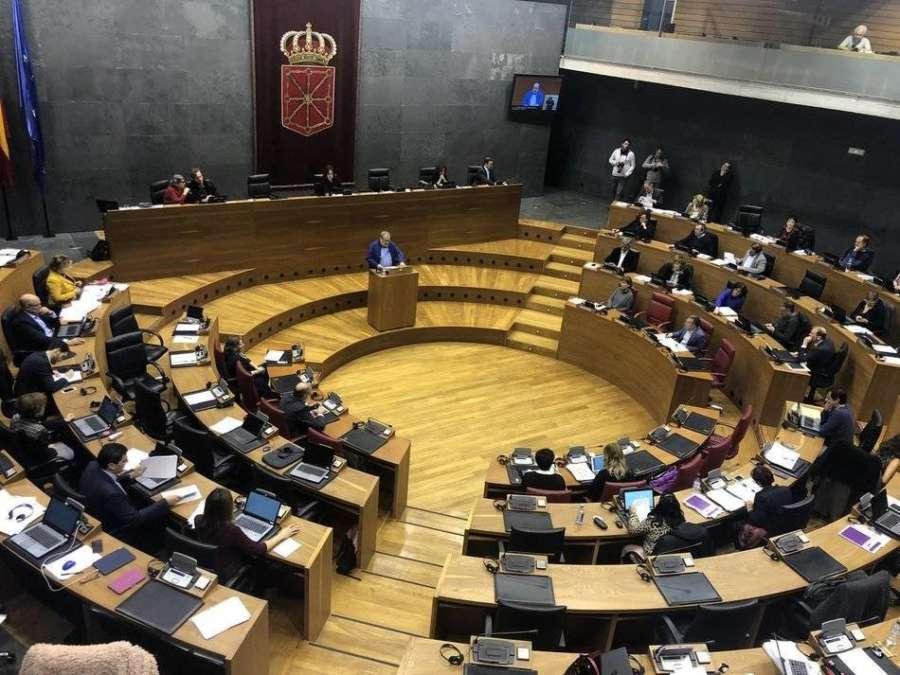 El Parlamento de Navarra aprueba 1,3 millones en subvenciones para los partidos políticos por gastos electorales