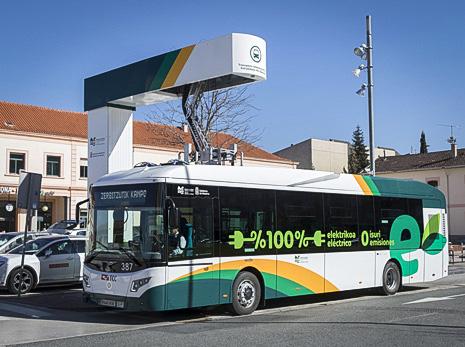 Arranca la primera línea 100% eléctrica de transporte urbano comarcal
