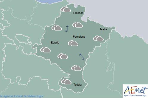En Navarra la cota de nieve se sitúa en torno a 1.000 metros